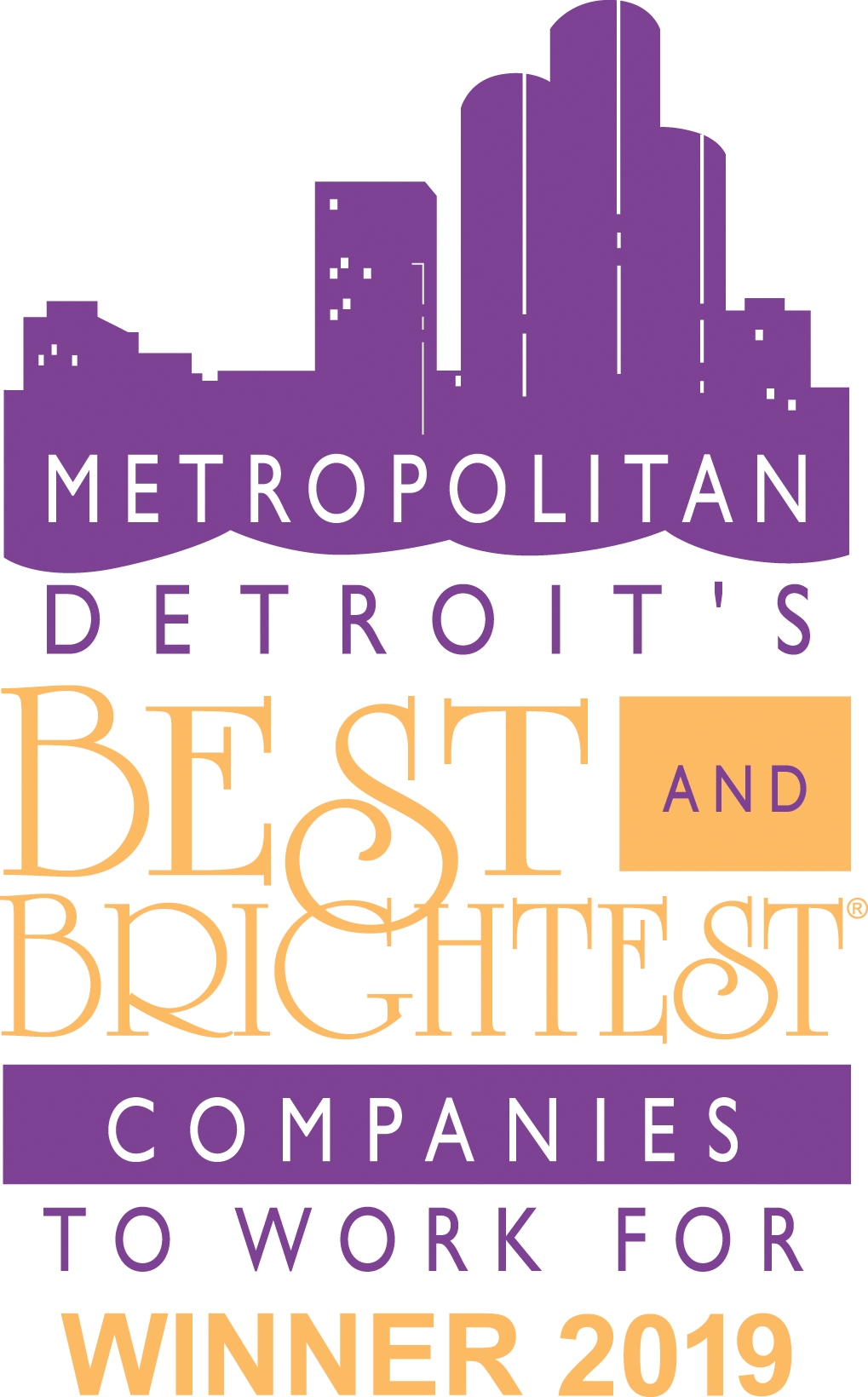 Metro Detroit Best and Brightest Logo 2018